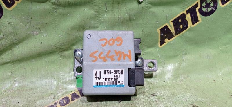 Блок управления рулевой колонкой Nissan Moco MG33S R06A 2012