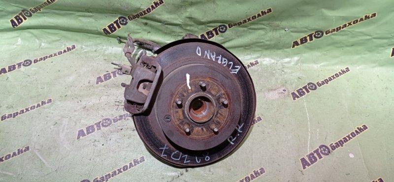 Ступица Nissan Elgrand NE51 VQ35(DE) 2005 задняя правая