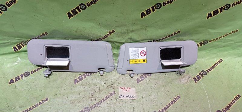 Козырек солнцезащитный Mazda Cx-7 ER3P L3-VDT 2007