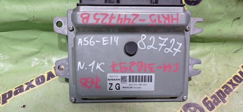 Блок efi Nissan Tiida C11 HR15 2009