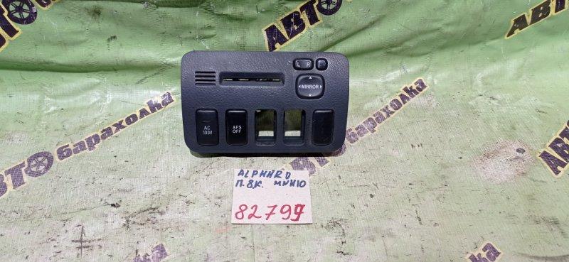 Блок управления зеркалами Toyota Alphard MNH10 1MZ-FE 2005