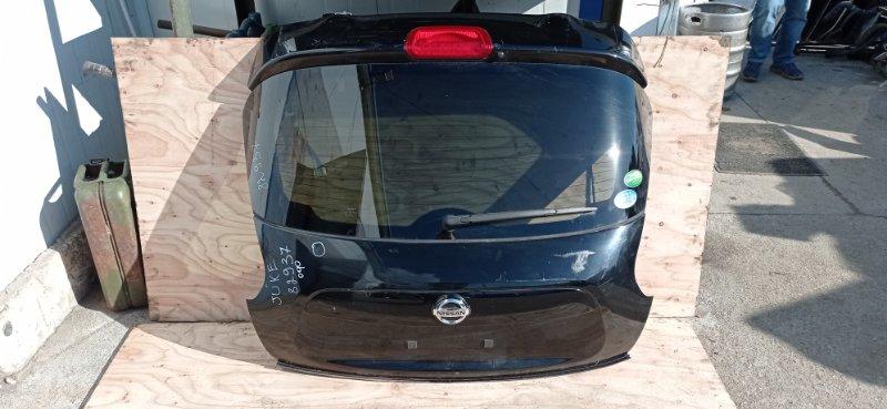 Дверь 5-я Nissan Juke YF15 HR15 2014 задняя