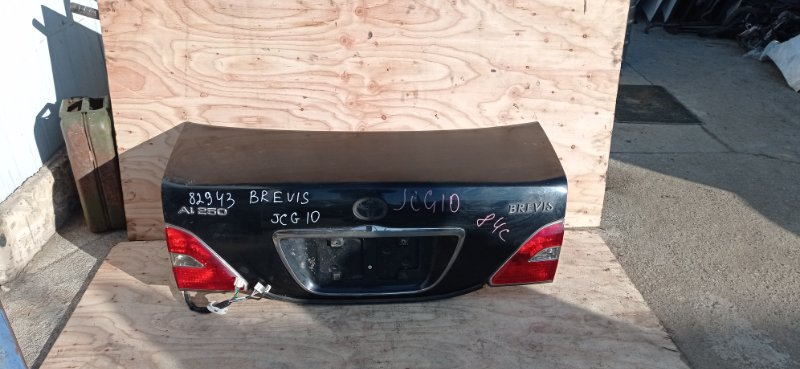Крышка багажника Toyota Brevis JCG10 1JZ-FSE 2002 задняя