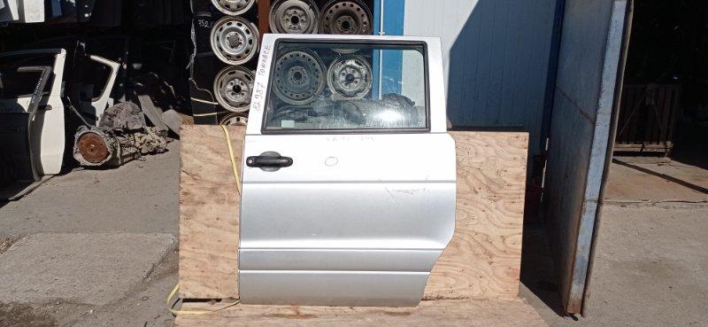 Дверь боковая (раздвижная) Toyota Townace CR42 3C-E 2002 задняя левая