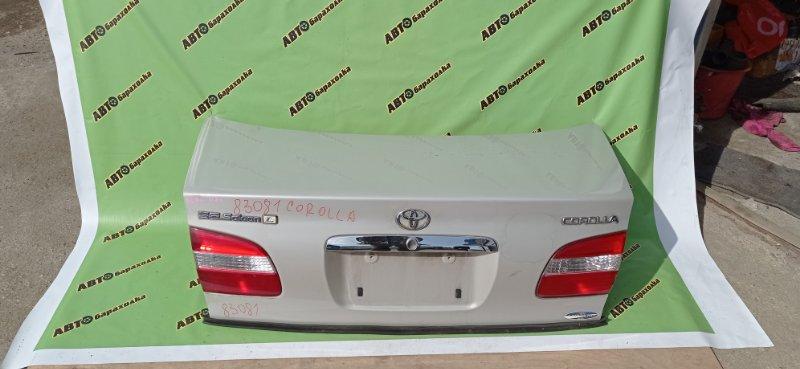 Крышка багажника Toyota Corolla AE110 5A-FE 2000 задняя