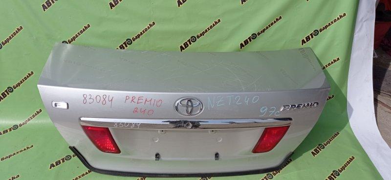Крышка багажника Toyota Premio NZT240 1NZ-FE 2002 задняя