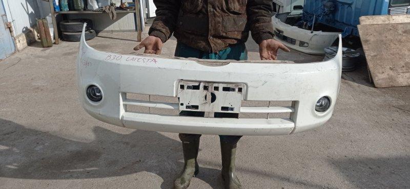 Бампер Nissan Lafesta B30 передний