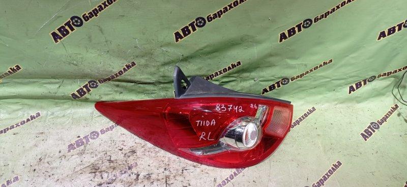 Стоп Nissan Tiida JC11 MR18 задний левый