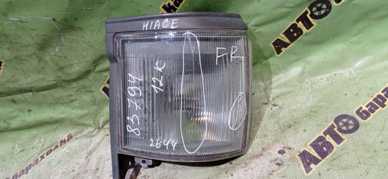 Габарит Toyota Hiace RZH112 1RZ-E 2002 передний правый