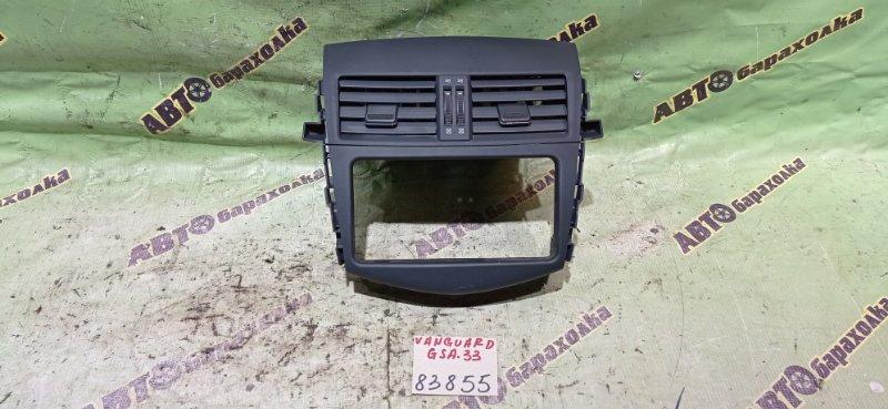Консоль магнитофона Toyota Vanguard GSA33 2GR-FE 2010