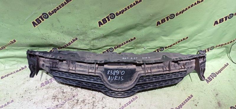 Решетка радиатора Toyota Auris NZE151 1NZ-FE 2006 передняя