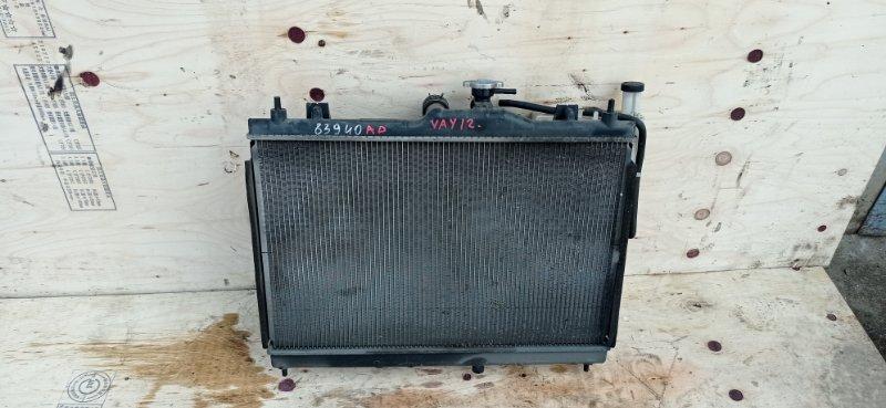 Радиатор основной Nissan Ad VAY12 HR15