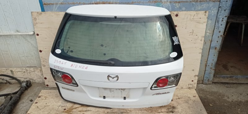 Дверь 5-я Mazda Atenza GYEW задняя