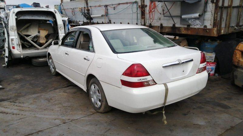 Крышка багажника Toyota Mark Ii JZX110 1JZ-FSE 2000 задняя