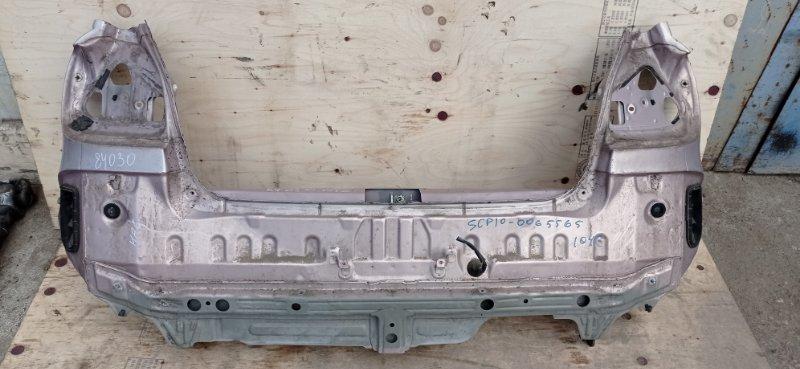 Задняя панель кузова Toyota Vitz SCP10 1SZ-FE 1999 задняя