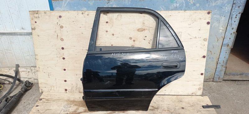 Дверь Toyota Sprinter Carib AE115 7A-FE 1995 задняя левая