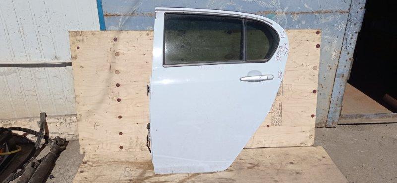 Дверь Daihatsu Mira E:s LA300S KF-VE3 2012 задняя левая