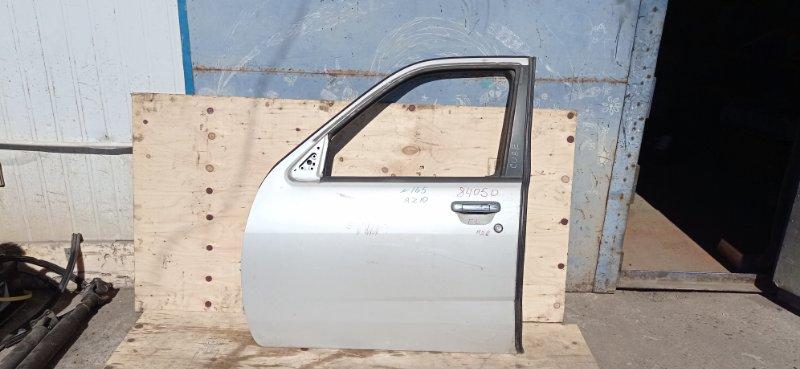 Дверь Nissan Cube AZ10 CGA3(DE) 2000 передняя левая