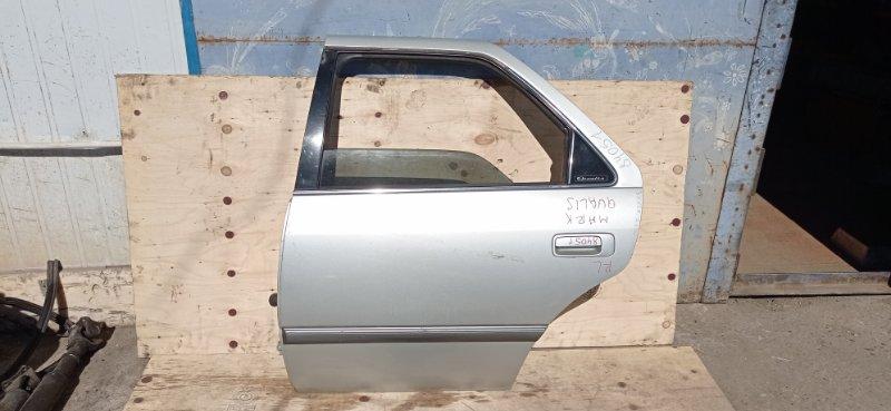 Дверь Toyota Mark Ii Qualis SXV20 5S-FE 1999 задняя левая