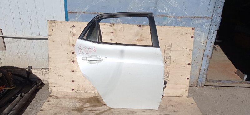 Дверь Toyota Auris NZE151 1NZ-FE 2006 задняя правая