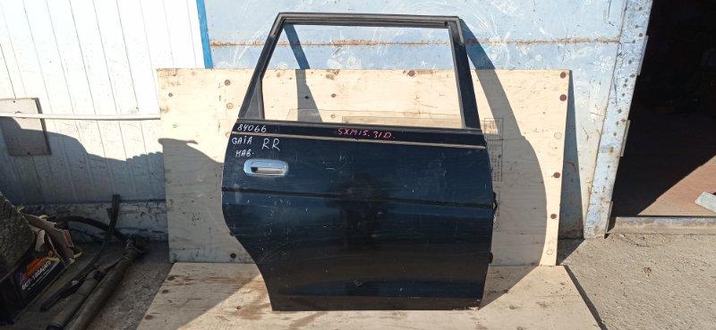 Дверь Toyota Gaia SXM15 3S-FE 2000 задняя правая