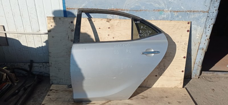 Дверь Toyota Allion ZZT240 1ZZ-FE 2006 задняя левая
