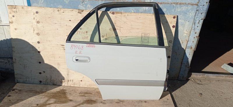 Дверь Toyota Corona Premio ST210 3S-FSE 1999 задняя правая