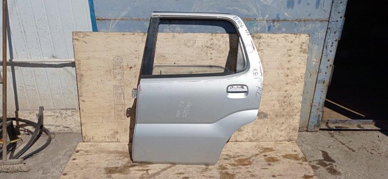 Дверь Suzuki Kei HN22S K6A 2001 задняя левая