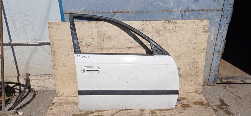 Дверь Toyota Caldina ST215 3S-FE 1999 передняя правая