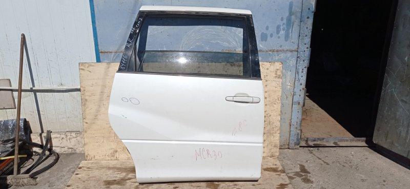 Дверь боковая (раздвижная) Toyota Estima MCR30 1MZ-FE 2003 задняя правая