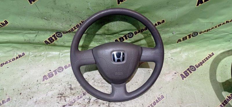 Руль с airbag Honda Mobilio GB1 L15A 2004