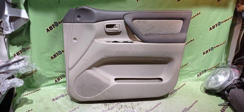 Обшивка дверей Toyota Land Cruiser UZJ100 2UZ-FE 2003 передняя правая