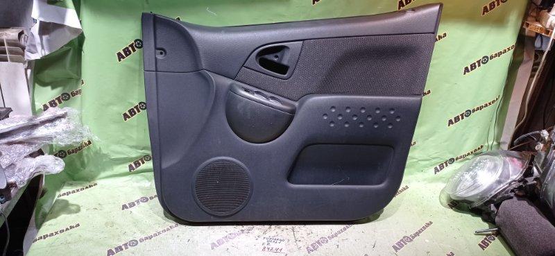 Обшивка дверей Toyota Funcargo NCP21 1NZ-FE 2005 передняя правая