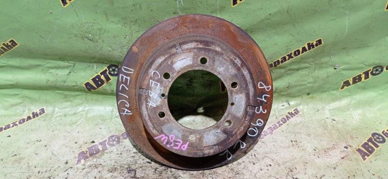 Диск тормозной Mitsubishi Delica PE8W задний правый