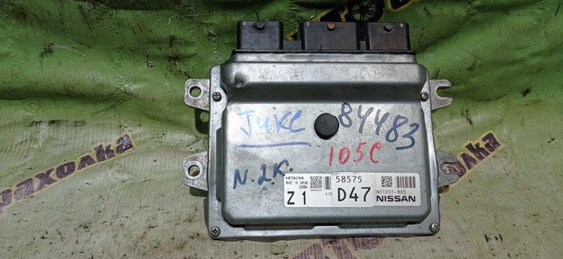 Блок efi Nissan Juke YF15 HR15 2014