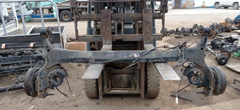 Балка со ступицами Toyota Raum NCZ20 1NZ-FE 2007