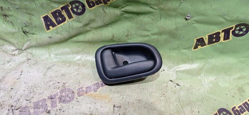 Ручка двери внутренняя Toyota Corolla AE100 5A-FE 1995 задняя левая