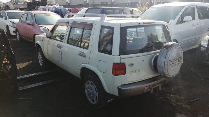 Форточка двери Nissan Rasheen RFNB14 GA15(DE) 1995 задняя левая