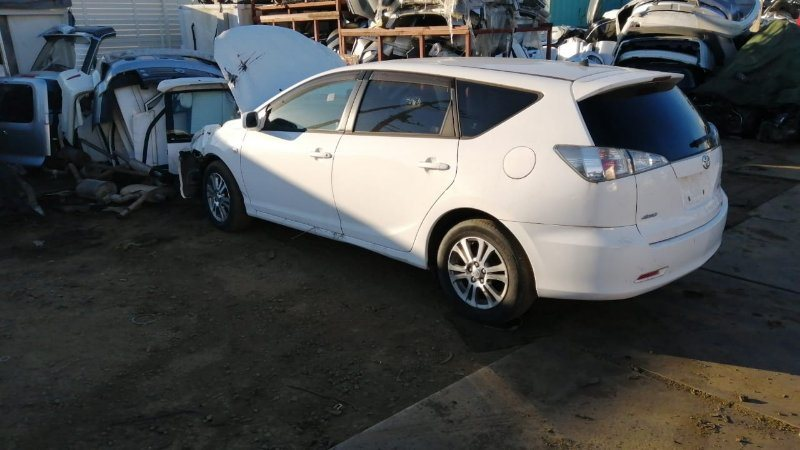 Стекло двери Toyota Caldina AZT246 1AZ-FSE 2005 заднее левое