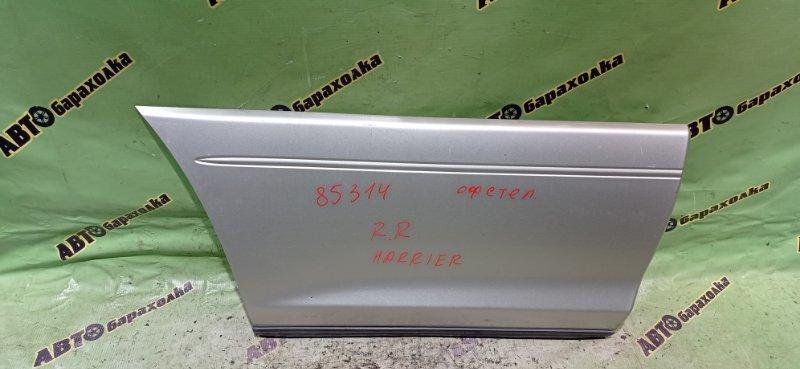 Накладка на дверь Toyota Harrier SXU10 5S-FE задняя правая