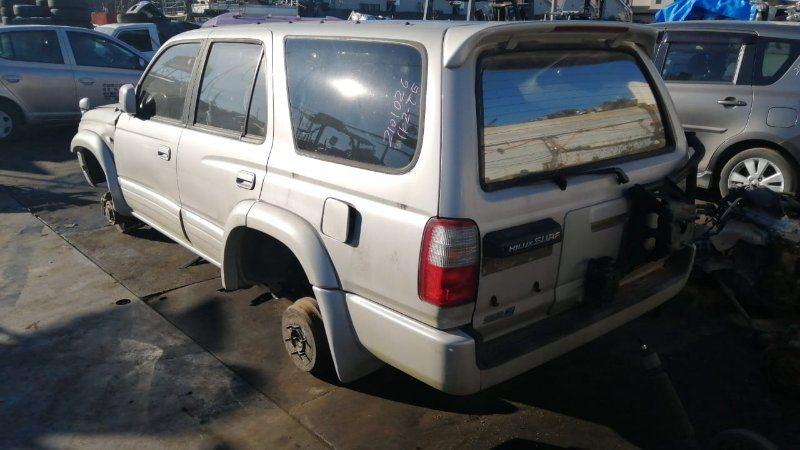 Стекло двери Toyota Hilux Surf KZN185 1KZ-TE 1996 заднее левое