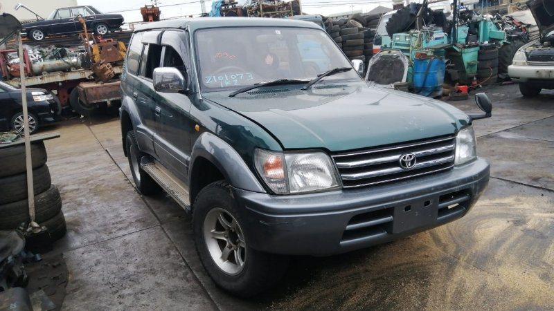 Стекло двери Toyota Land Cruiser Prado KZJ95 1KZ-TE 1997 переднее правое