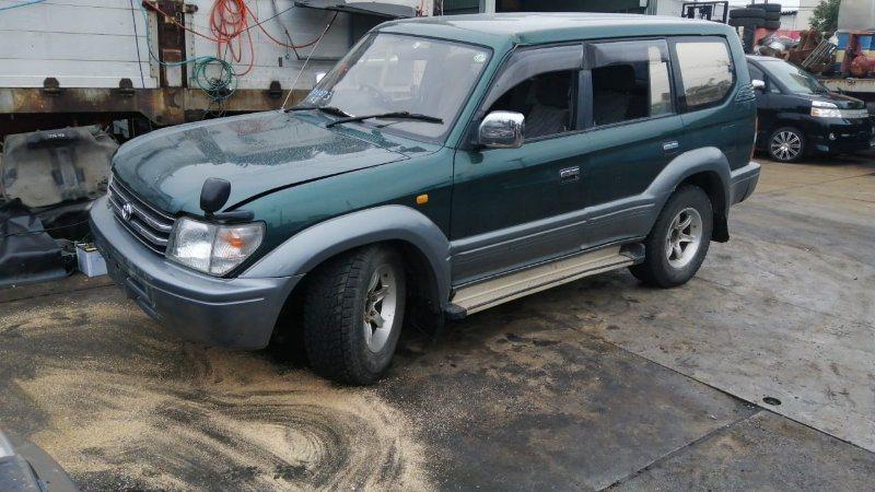 Стекло двери Toyota Land Cruiser Prado KZJ95 1KZ-TE 1997 переднее левое