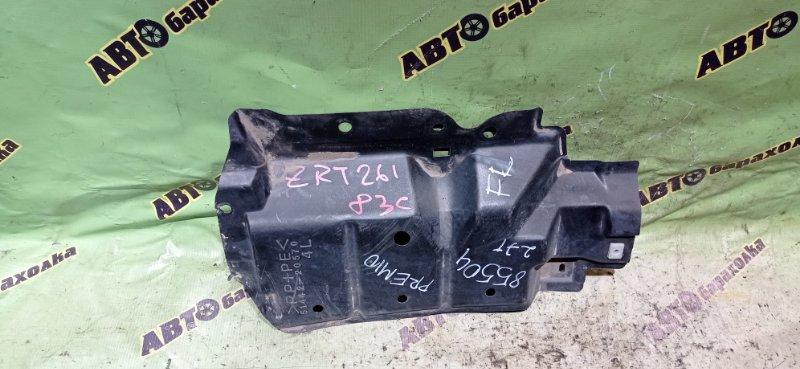 Защита двигателя Toyota Premio ZRT261 3ZR-FAE 2008 передняя левая