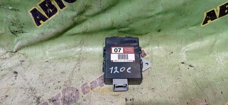 Блок управления климат контролем Toyota Brevis JCG10 1JZ-FSE 2002