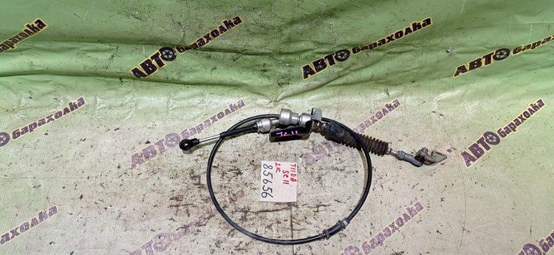 Трос переключения акпп Nissan Tiida SC11 HR15