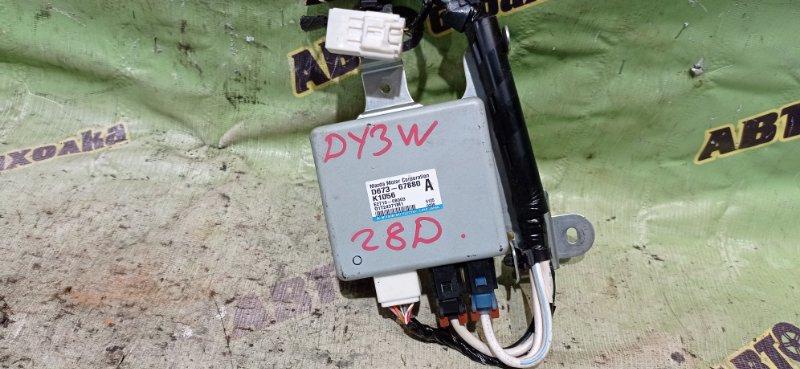 Блок управления рулевой рейкой Mazda Demio DY3W ZJ 2006