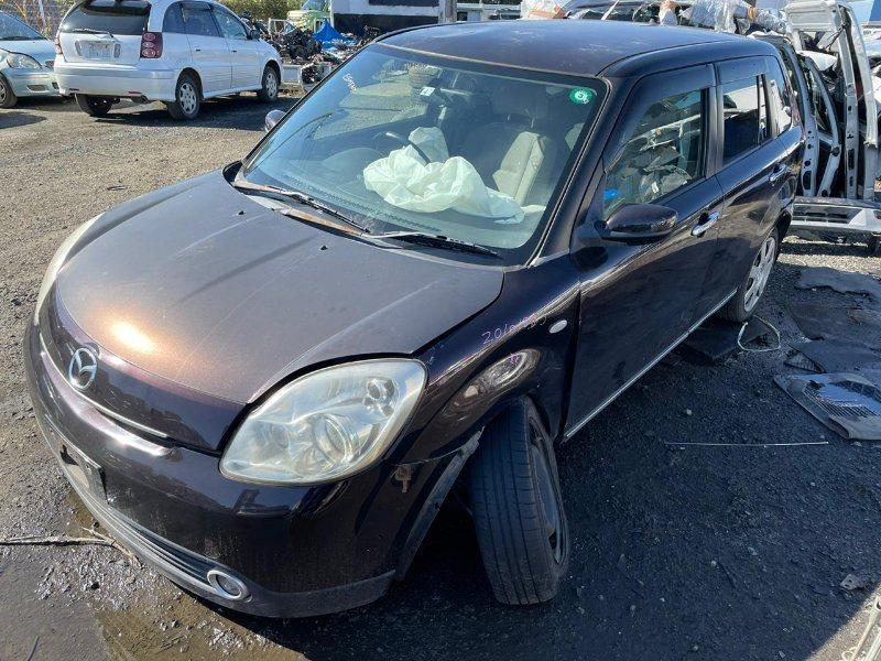Стекло двери Mazda Verisa DC5W ZY 2005 заднее левое