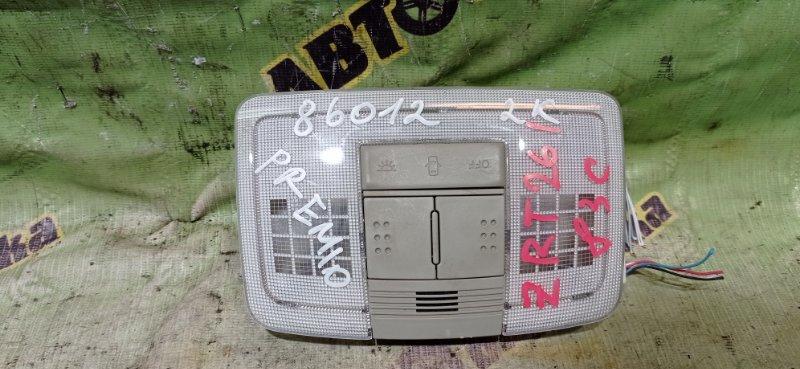 Светильник салона Toyota Premio ZRT261 3ZR-FAE 2008