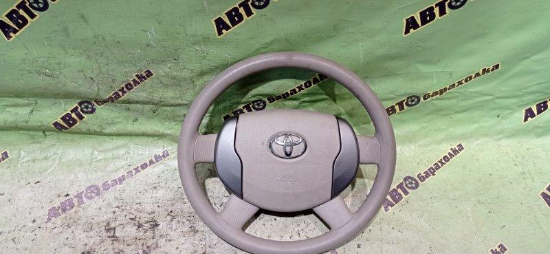 Руль с airbag Toyota Raum NCZ20 1NZ-FE 2007